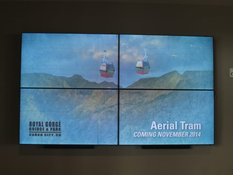 Royal Gorge Video Wall
